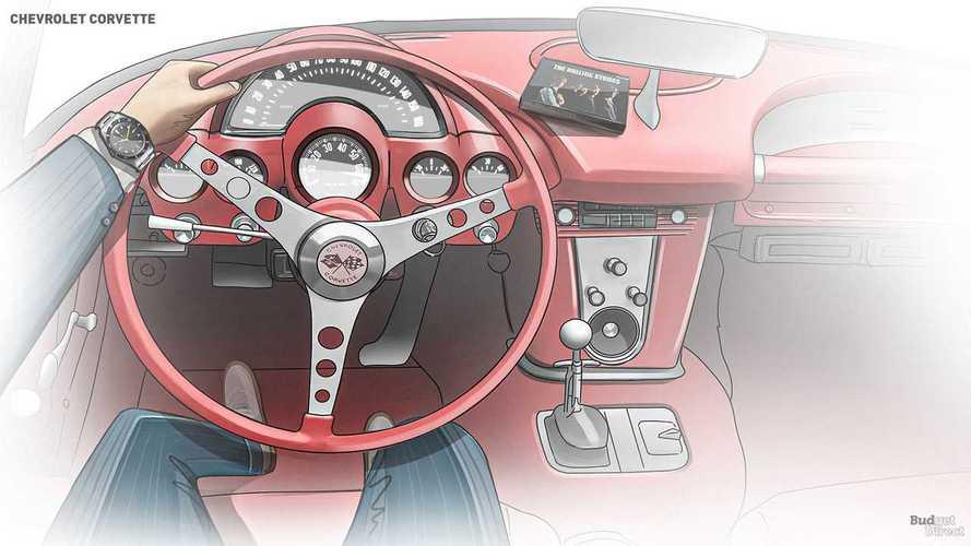 Эволюция интерьера Chevrolet Corvette