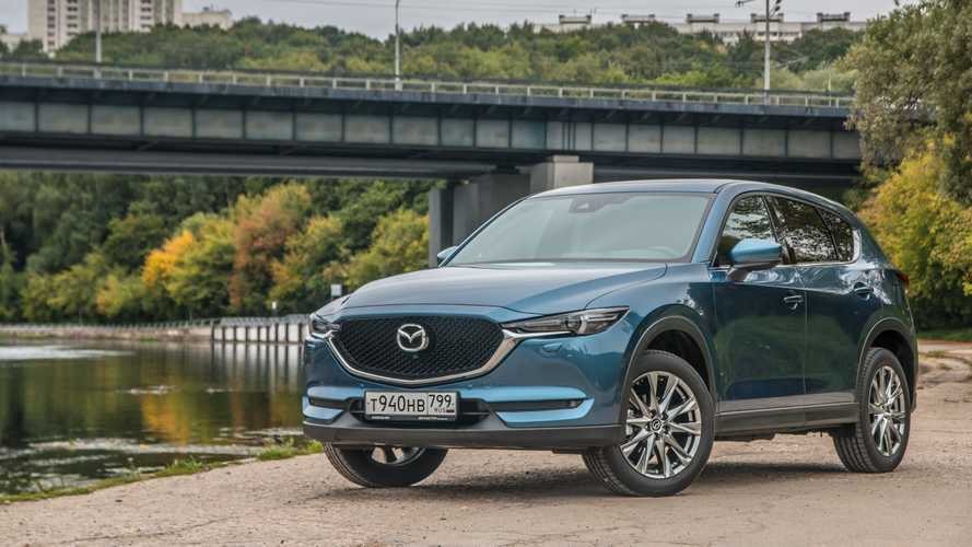 2019 Mazda CX-5 2019 Mazda CX-5 test-drive in Moscow