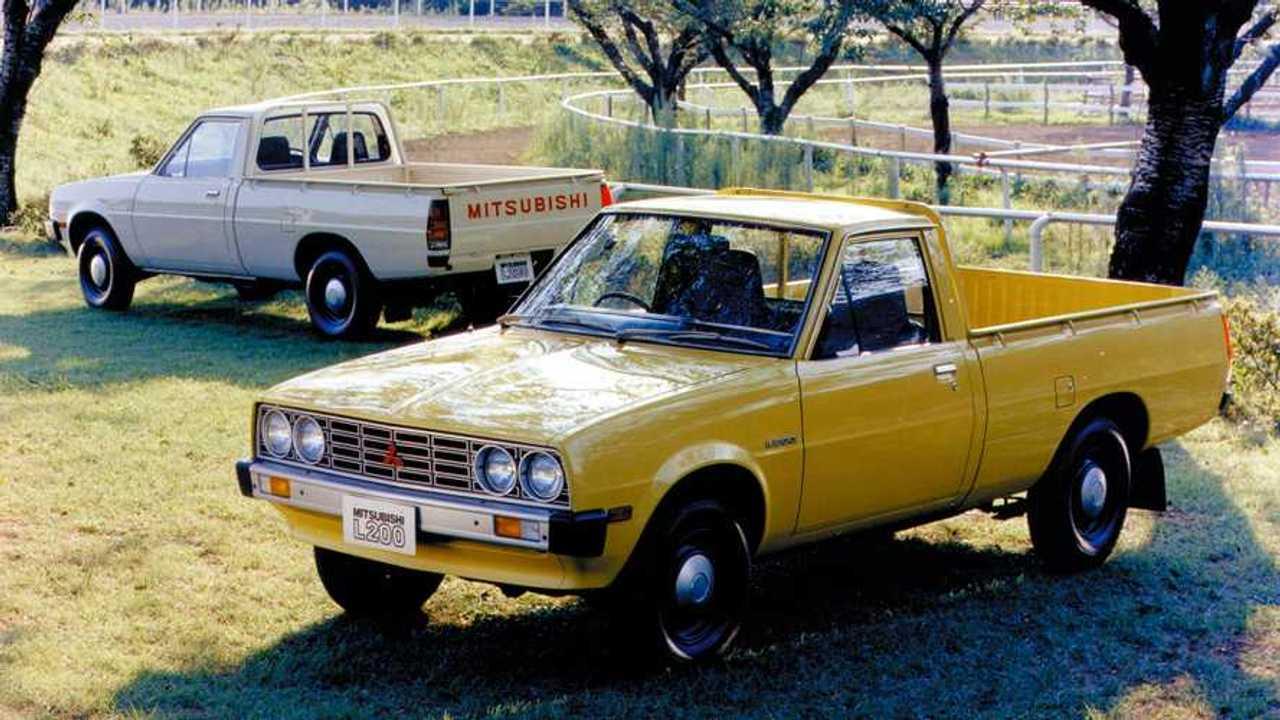 Storia del piccolo pick-up Mitsubishi L200