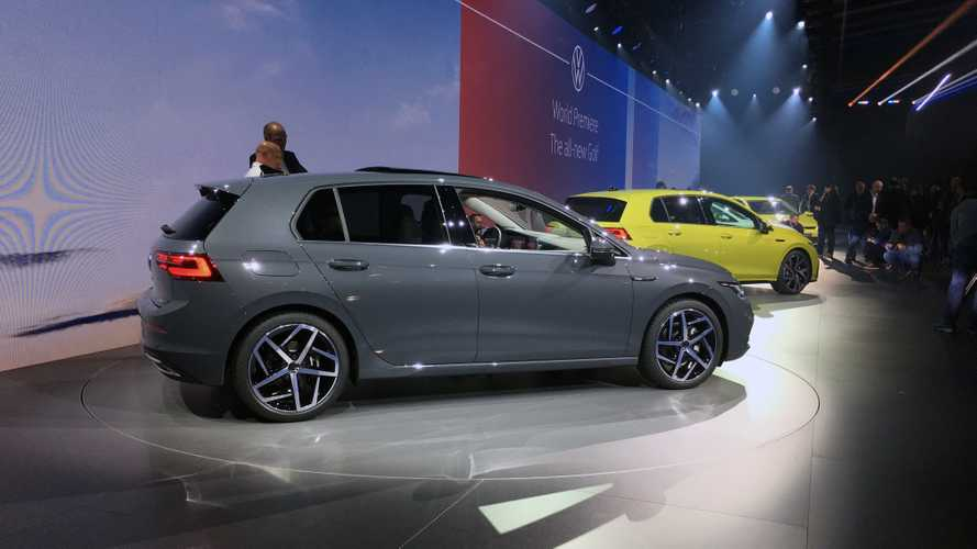 2020 VW Golf 8 full image gallery