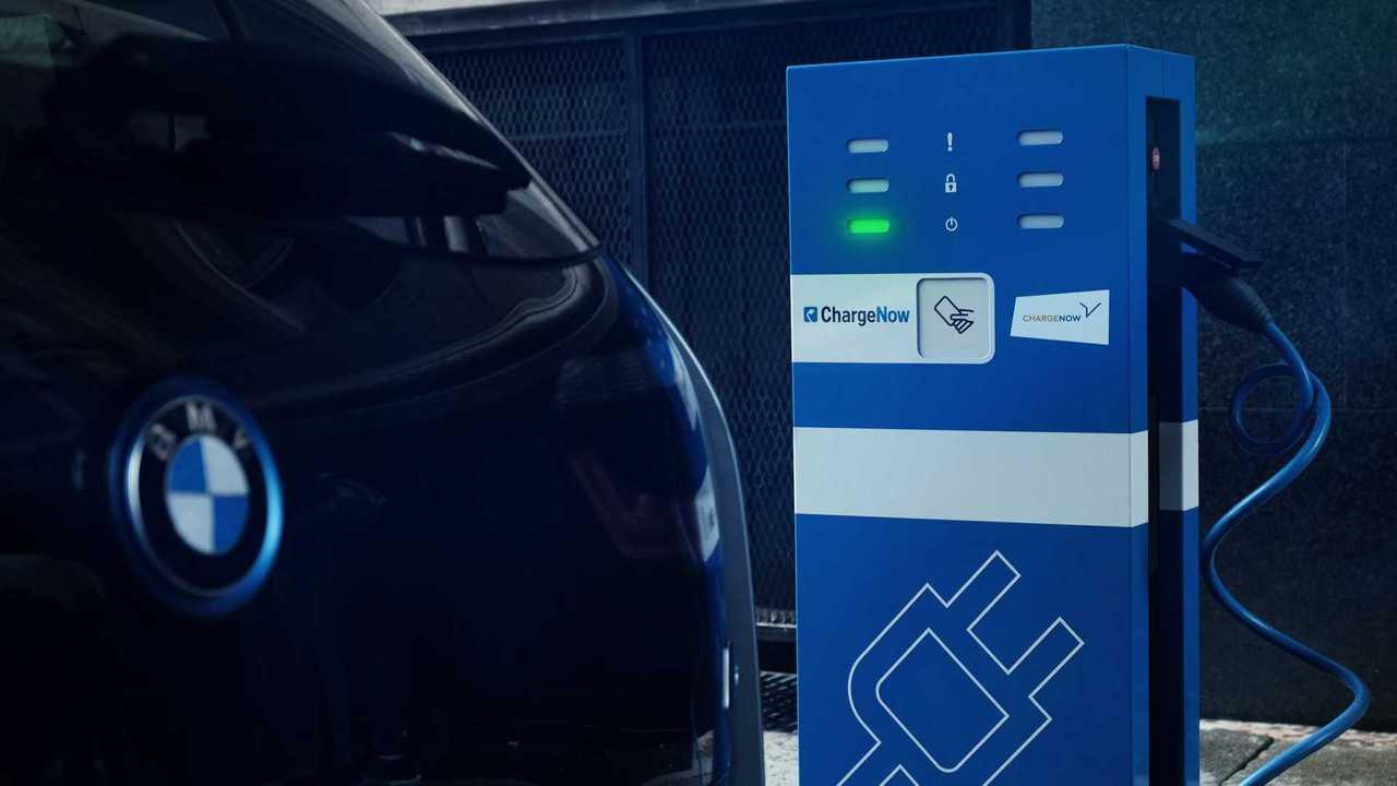 BMW charging
