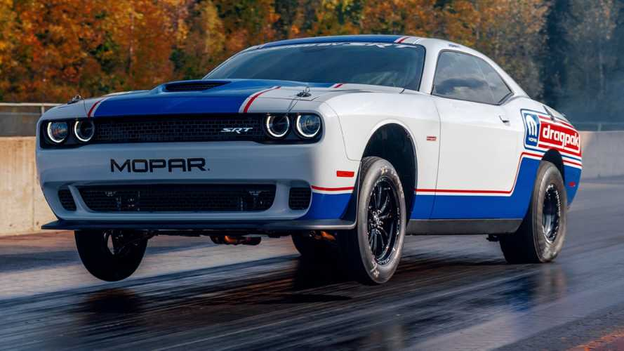 Dodge Challenger Drag Pak Debuts To Dominate The Quarter-Mile