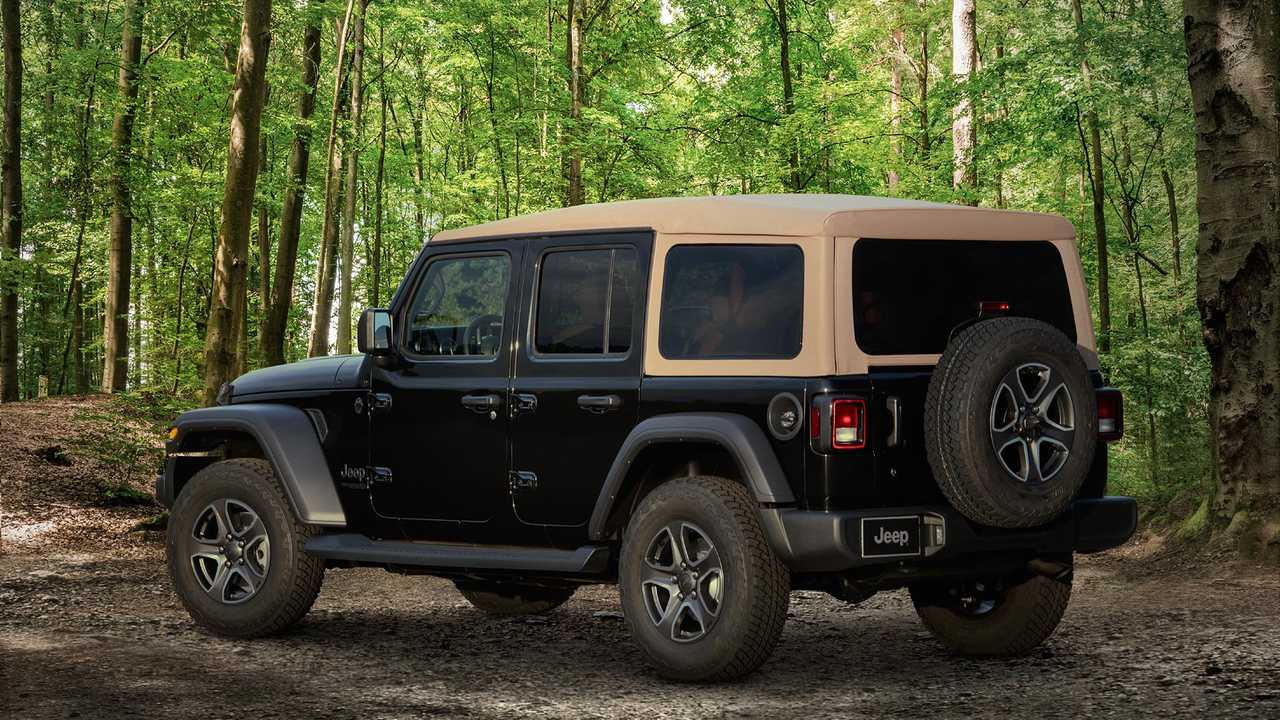 2020 Jeep Black And Tan