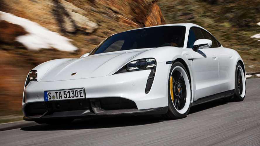 Porsche Taycan 2020  debuta como un súper sedán totalmente eléctrico