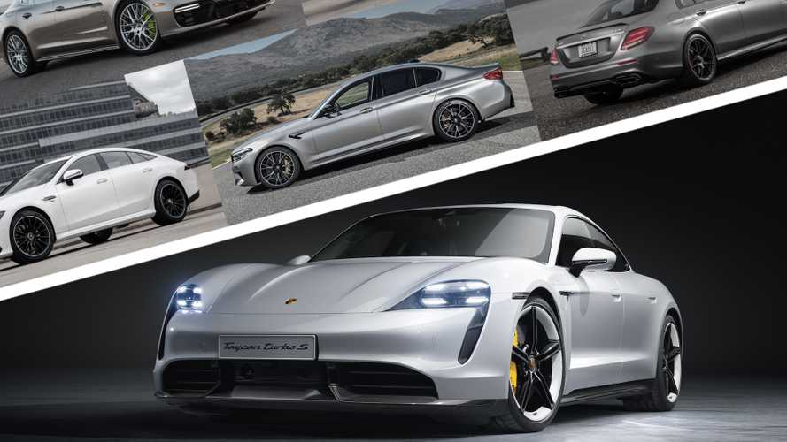 2020 Porsche Taycan takes on the petrol-powered greats