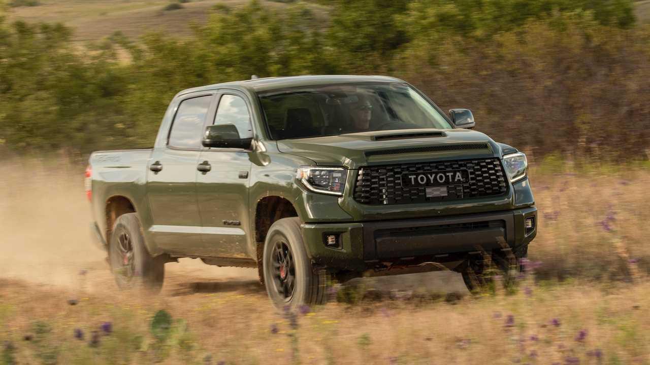 Toyota Tundra Trd Pro 2020 Comparacao Photo