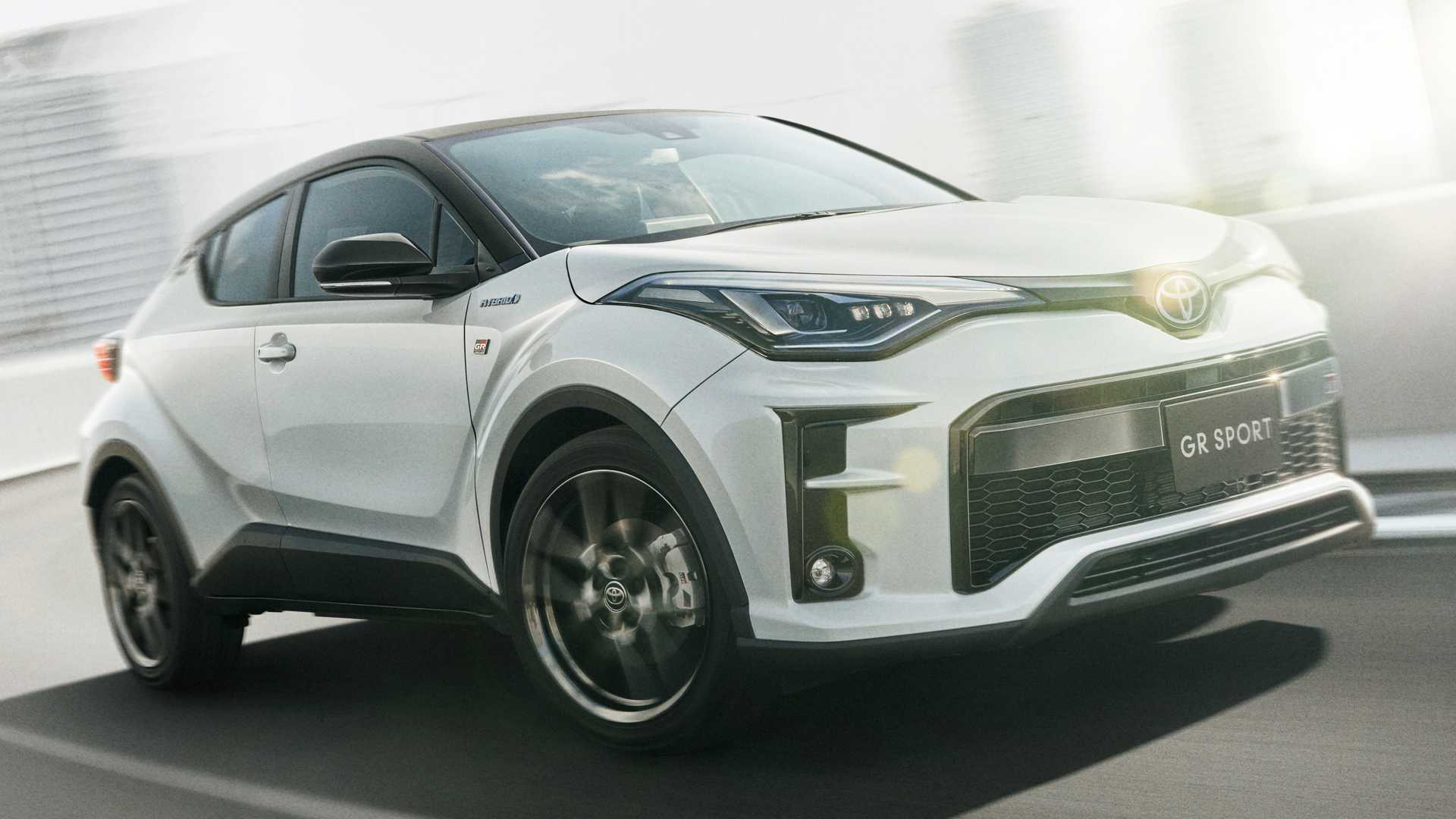 2020 Toyota C-HR GR Sport gets Gazoo racing treatment in Japan