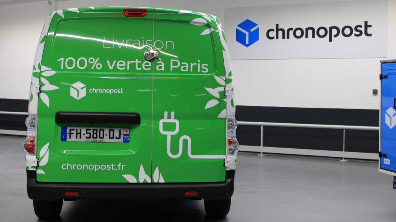 Chronopost - Voltia (Nissan e-NV200 van)