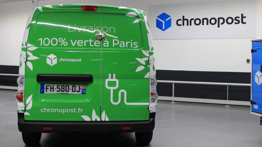Chronopost Switches To EVs With Hundreds Of Voltia (e-NV200)