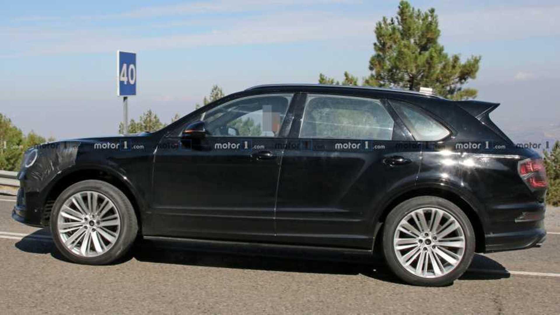 Bentley Bentayga facelift spied again with minimal camo
