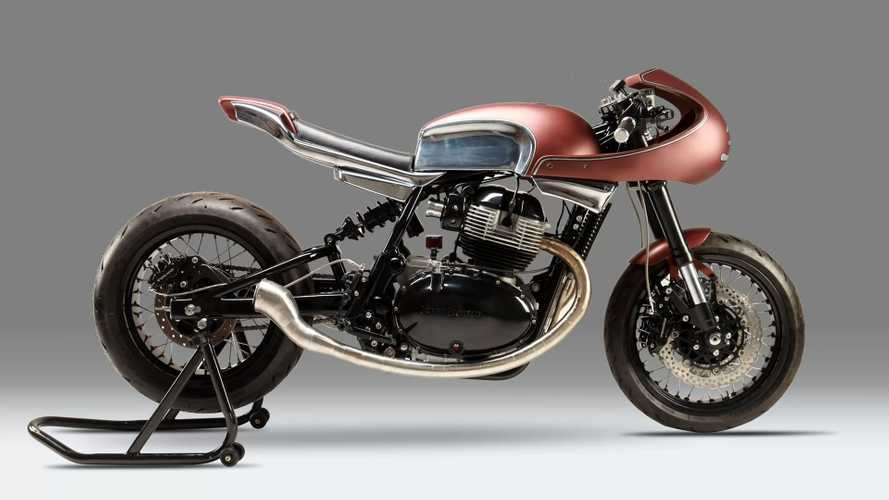 This Custom Royal Enfield Cafe Racer From Java Is A Knockout