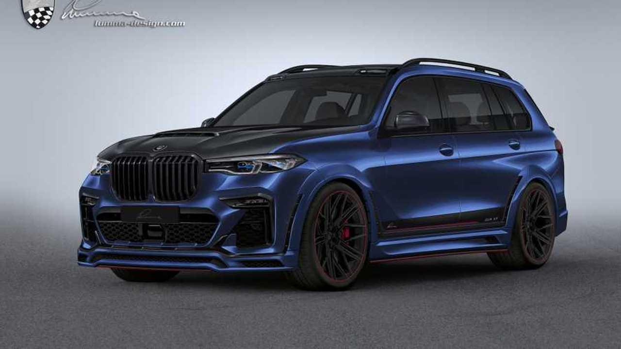 A BMW X7 által a Lumma Design-nak szükség van sebesség hangoló anyagára