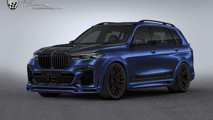 BMW X7 By Lumma Design Is Need For Speed Tuner Material