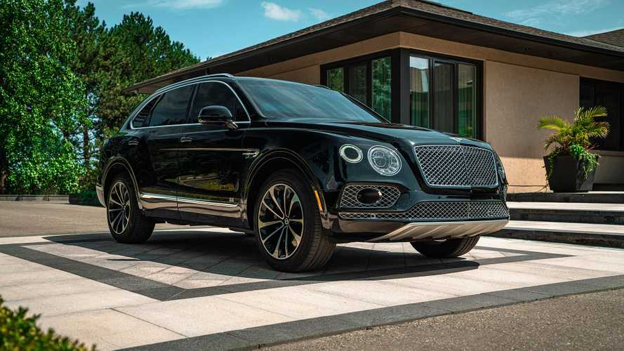 Armored Bentley Bentayga By Inkas
