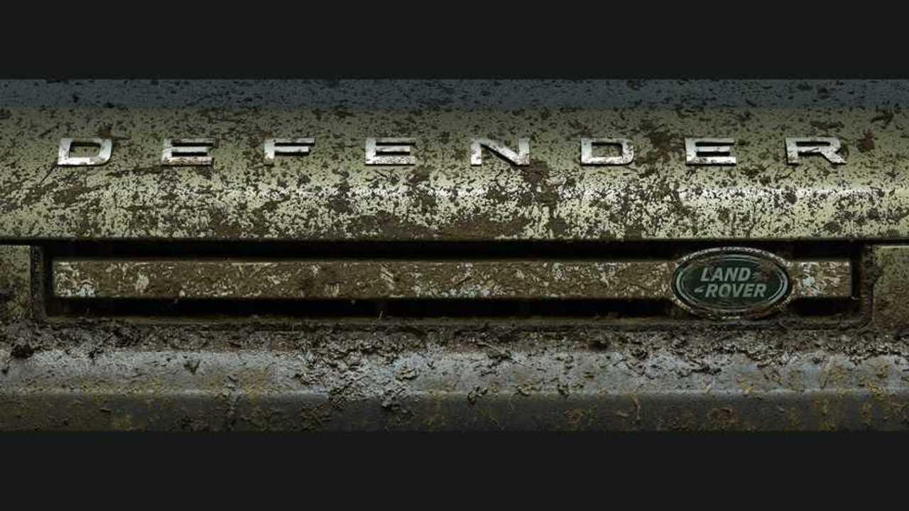 Teaser Land Rover Defender