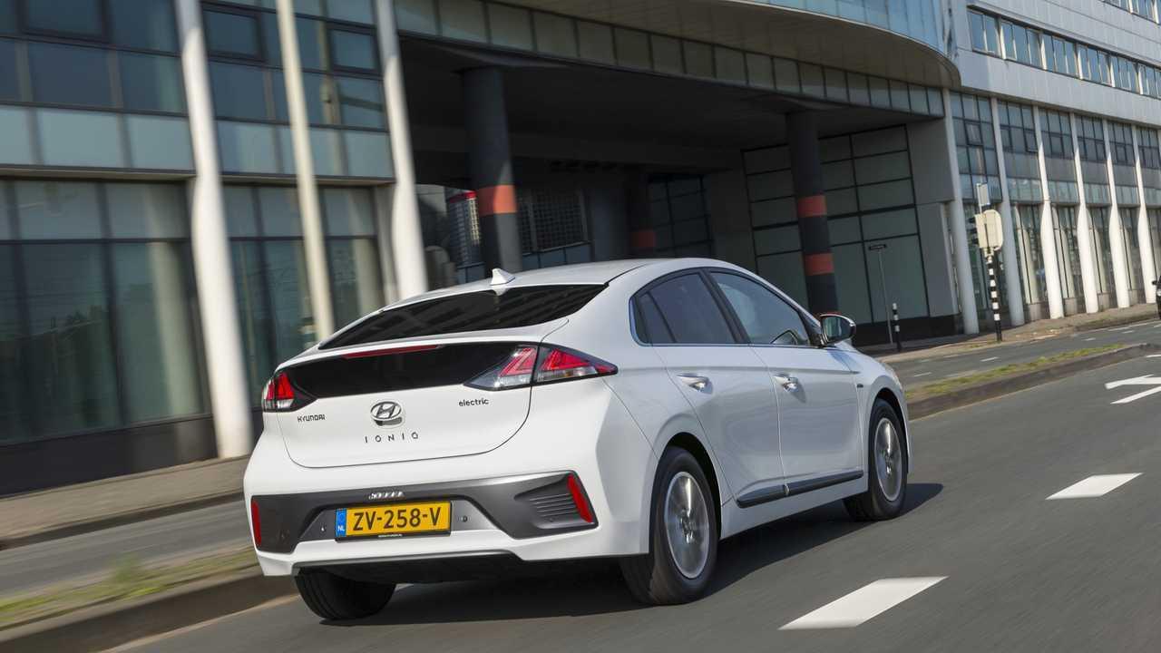 Hyundai Ioniq Electric'in Amsterdam'deki Orta Döngü Facelift'i Göründü
