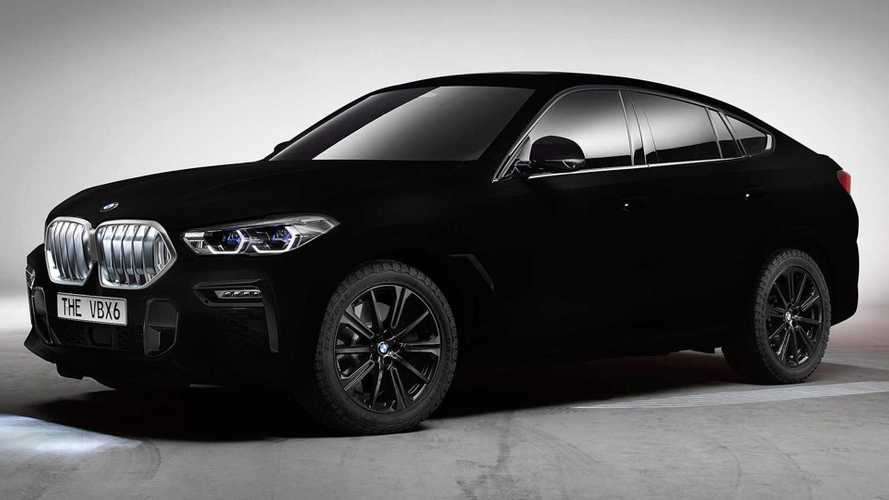 BMW X6 Vantablack arrives in world's darkest black colour