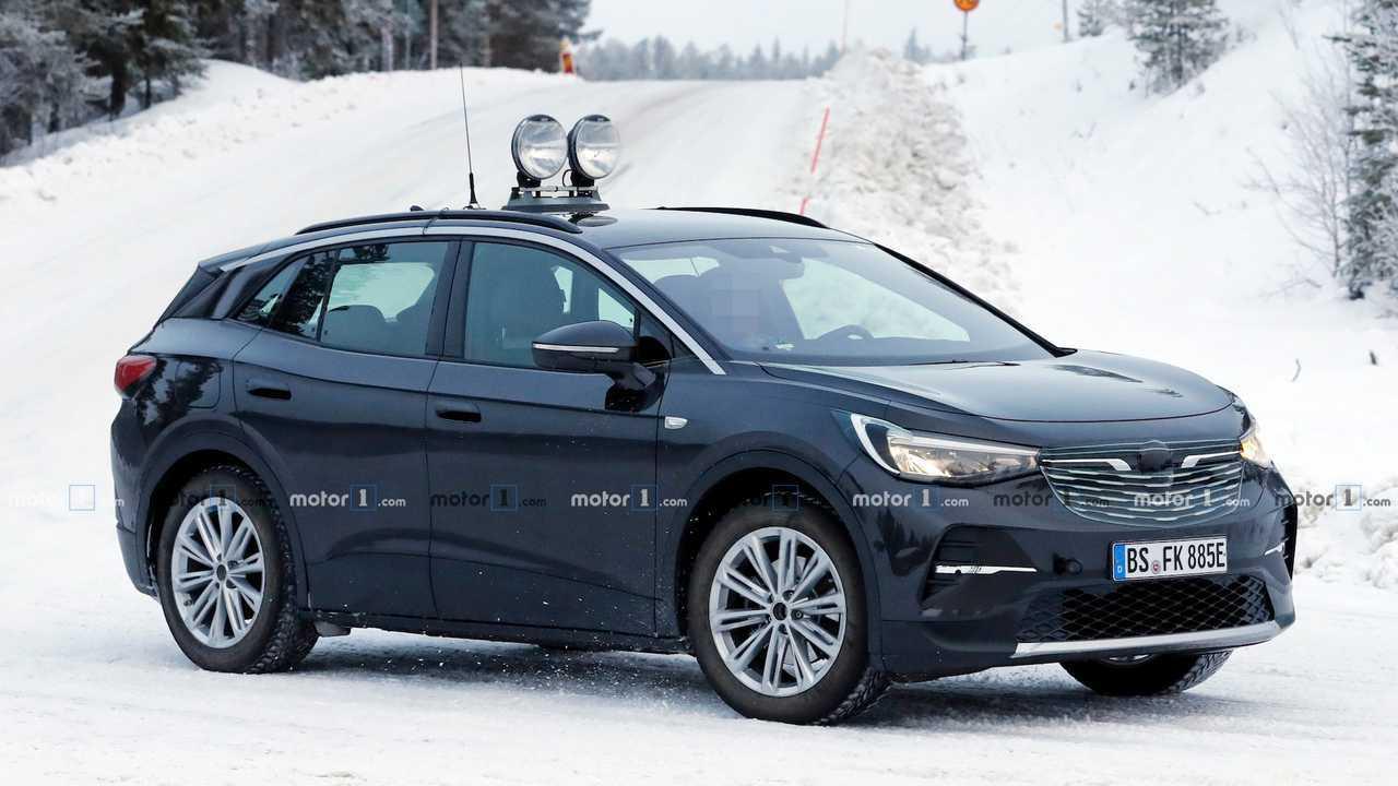 2022 Volkswagen ID.4 Spied