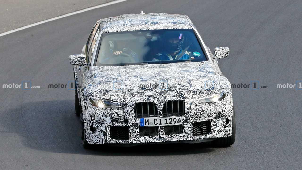 BMW M3 kémfotó