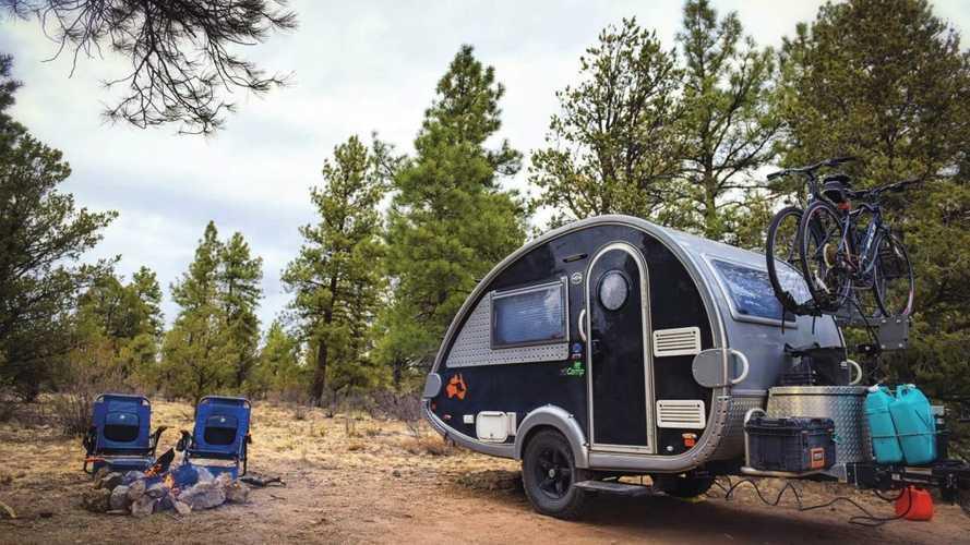 Caravana TAB 320 de nuCamp, pequeña pero con soluciones inteligentes