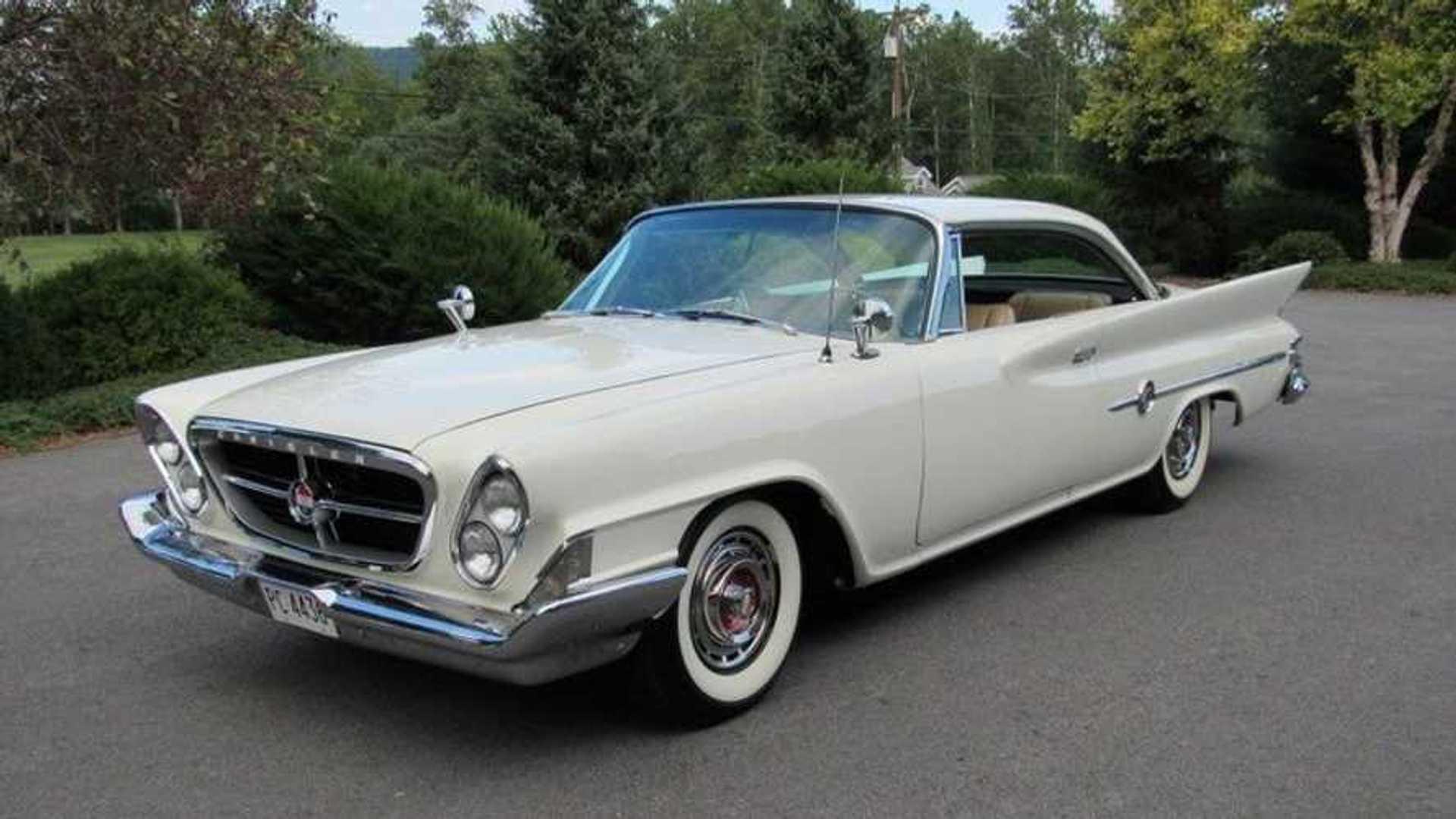 """[""""Bid On This Big, Bold 1961 Chrysler 300G Hardtop""""]"""