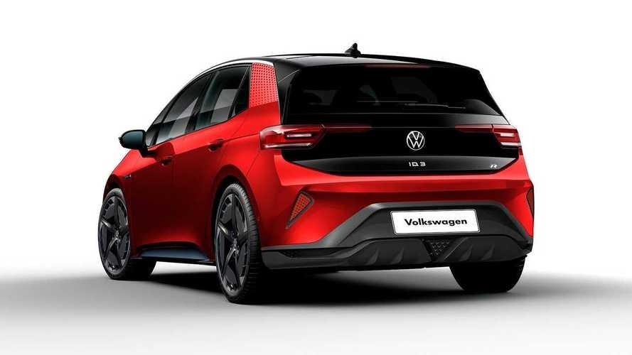 Volkswagen ID.3 R, render de Kleber Silva