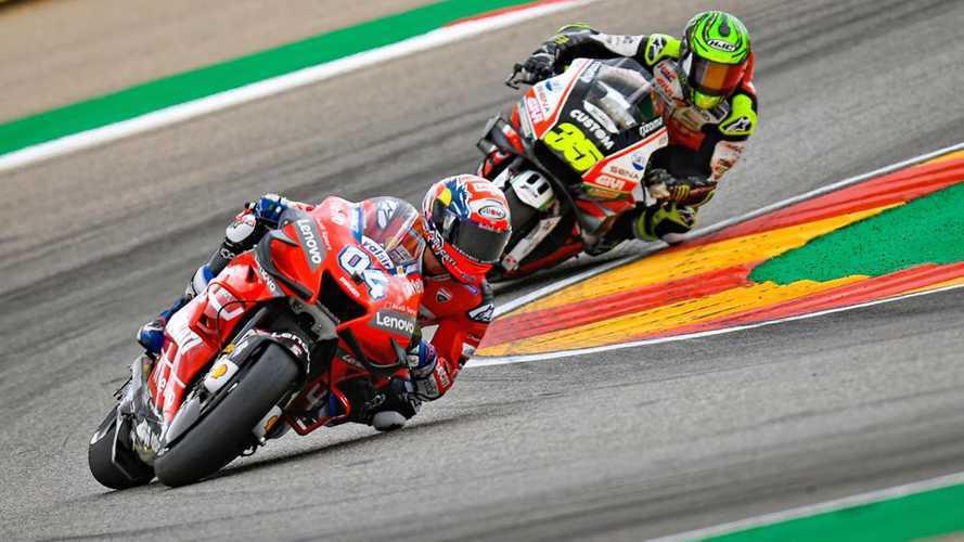 MotoGP 2019: ad Aragon bene Dovizioso e Miller, male Rossi e Petrucci
