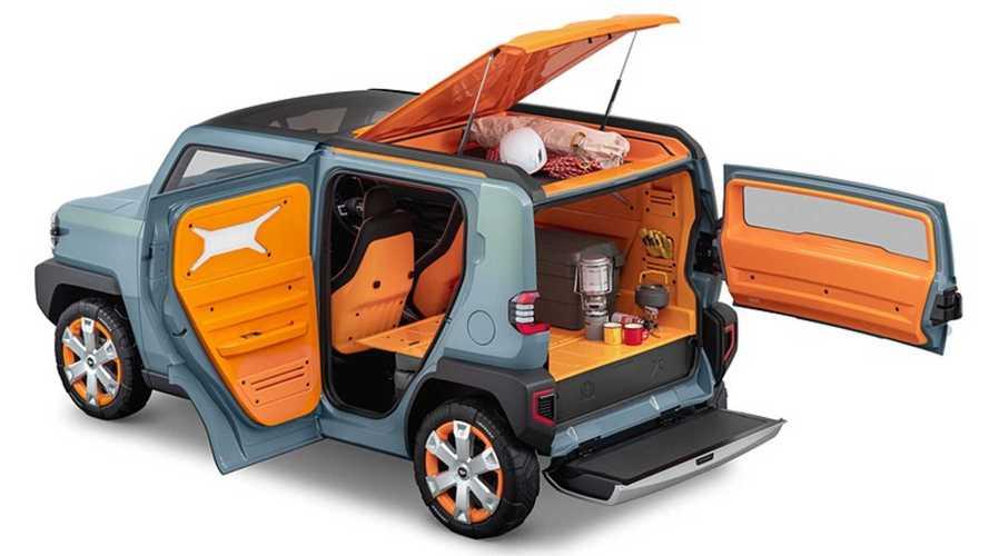 Анонсирован ультракомпактный гибрид кроссовера и дома на колесах
