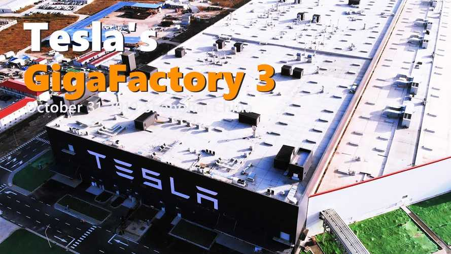 Tesla Gigafactory 3 Construction Progress October 31, 2019: Video