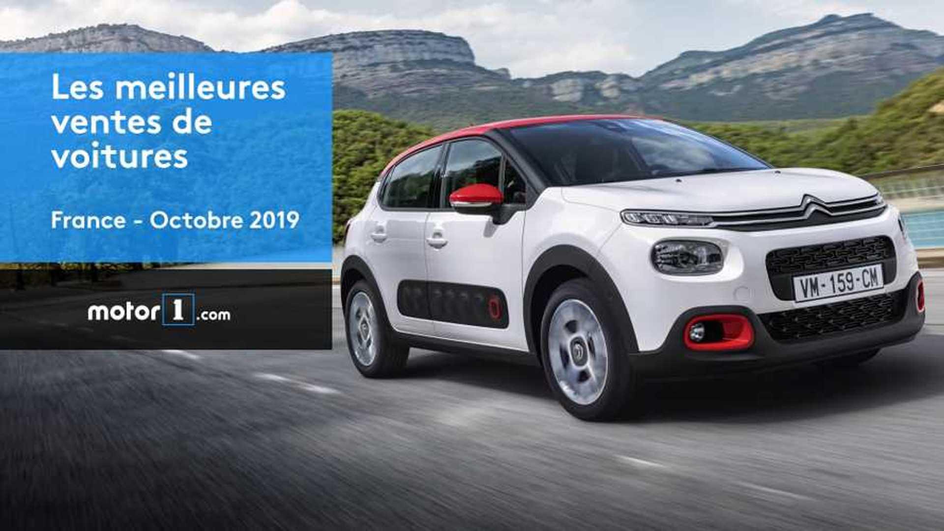 VIDÉO - Les 10 voitures les plus vendues en France en octobre
