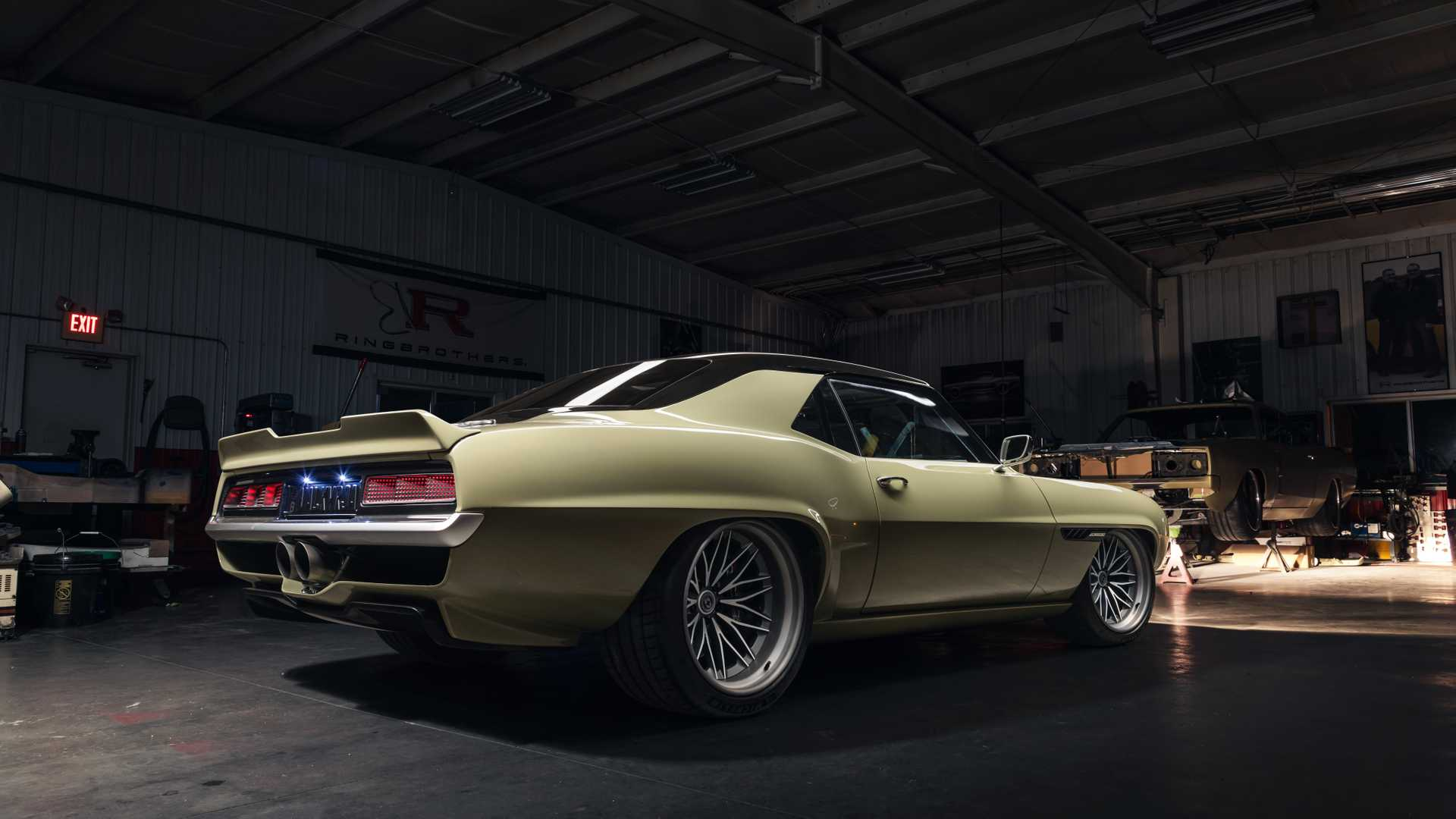 """[""""Ringbrothers Shoots For The Moon With A 1969 Chevy Camaro Named Valkyrja""""]"""