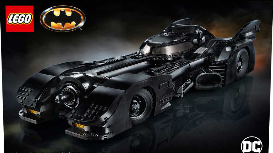 Lego Keaton Batmobile Kit Debuts At Nearly 2 Feet Long
