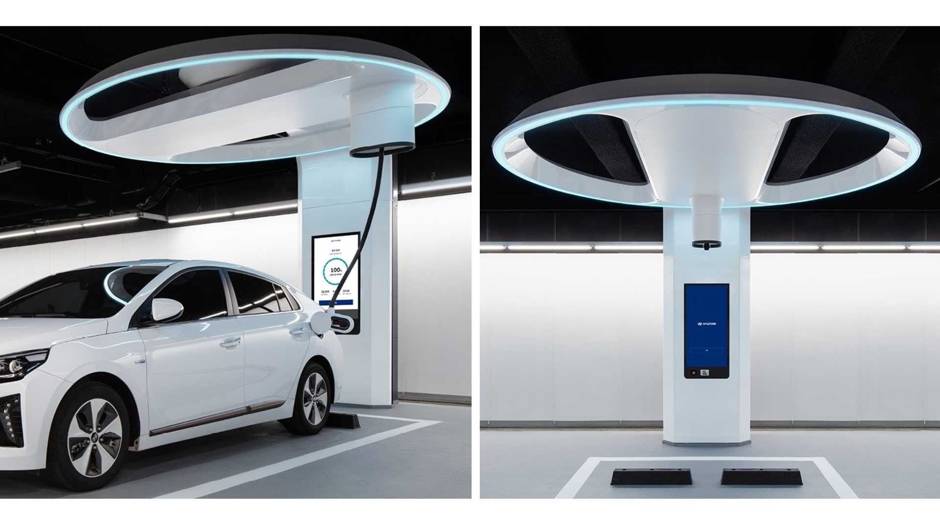 Hyundai Shows A New Ultra-Fast Charger Concept