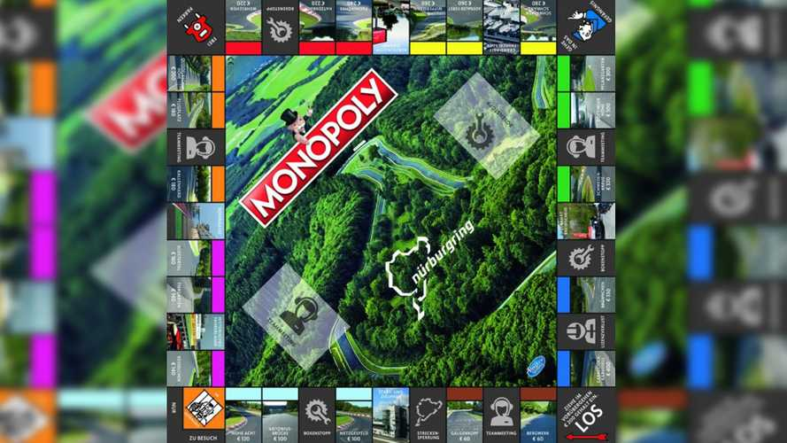 Nürburgring Monopoly Board Game