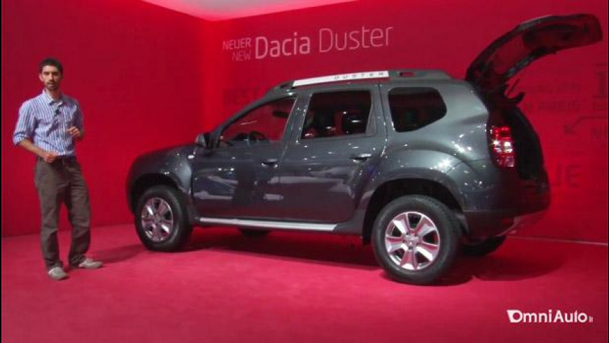 Salone di Francoforte: primo incontro con la Dacia Duster restyling [VIDEO]