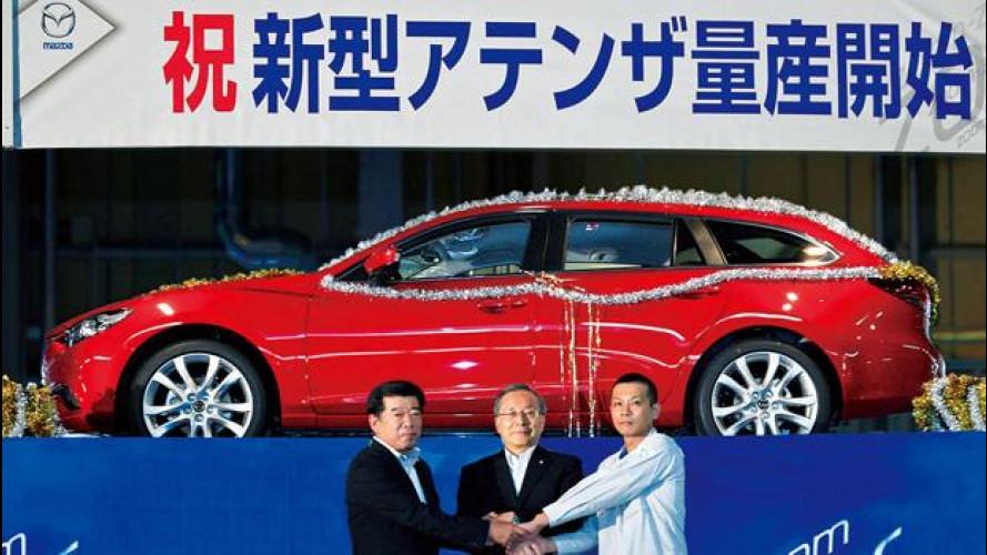 Nuova Mazda6: la prima prodotta è una wagon