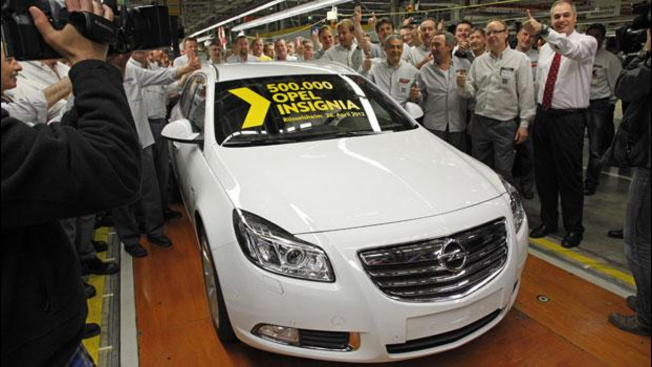 [Copertina] - Opel festeggia la 500.000a Insignia prodotta a Russelsheim