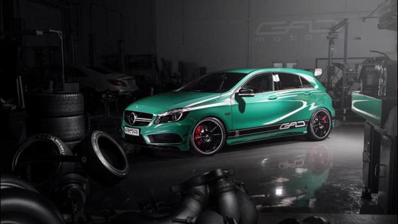 [Copertina] - Mercedes A45 AMG, iniezione di potenza