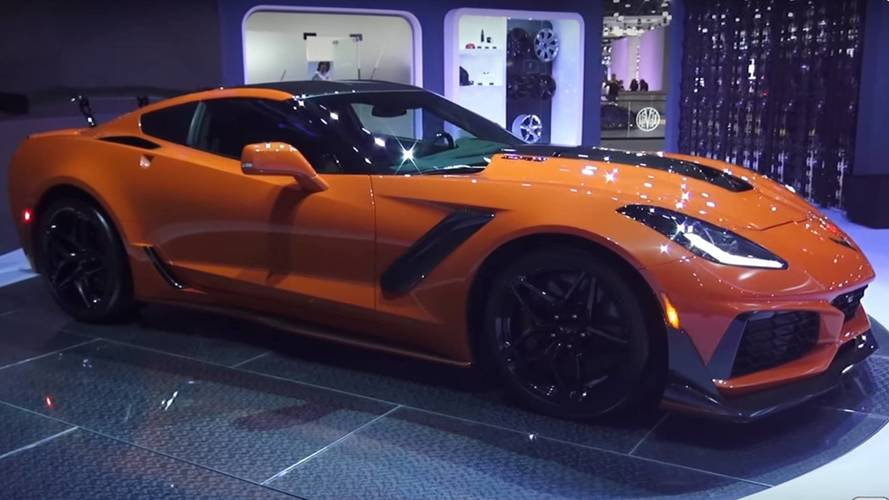 Chevy Corvette ZR1 Gets The Walkaround Treatment