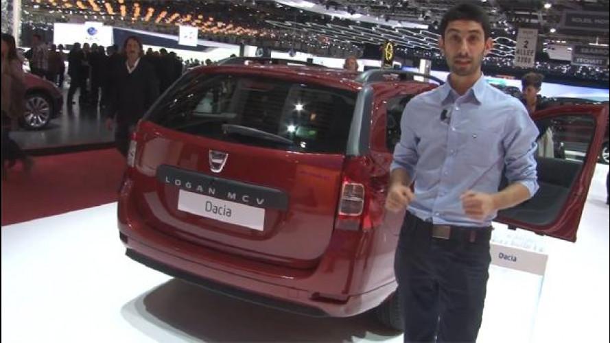 Salone di Ginevra: nuova Dacia Logan MCV, una station contro la crisi