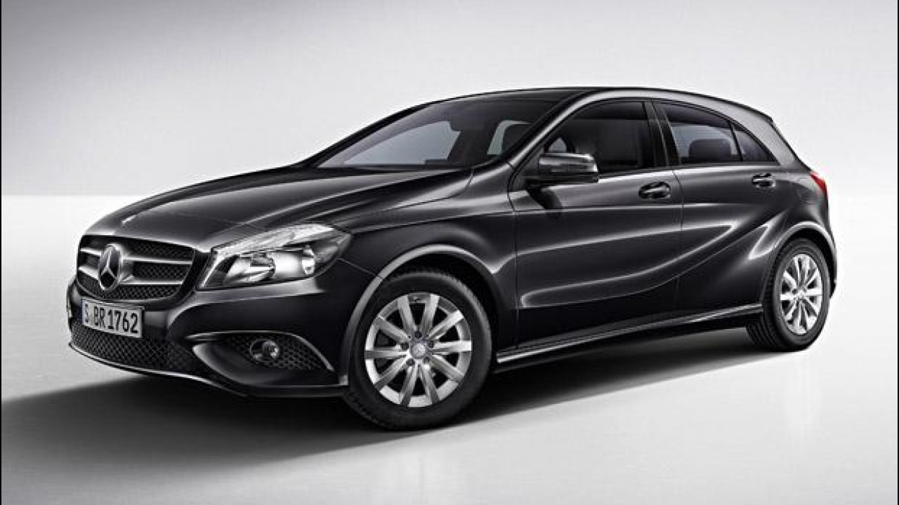[Copertina] - Mercedes Classe A BlueEFFICIENCY Edition