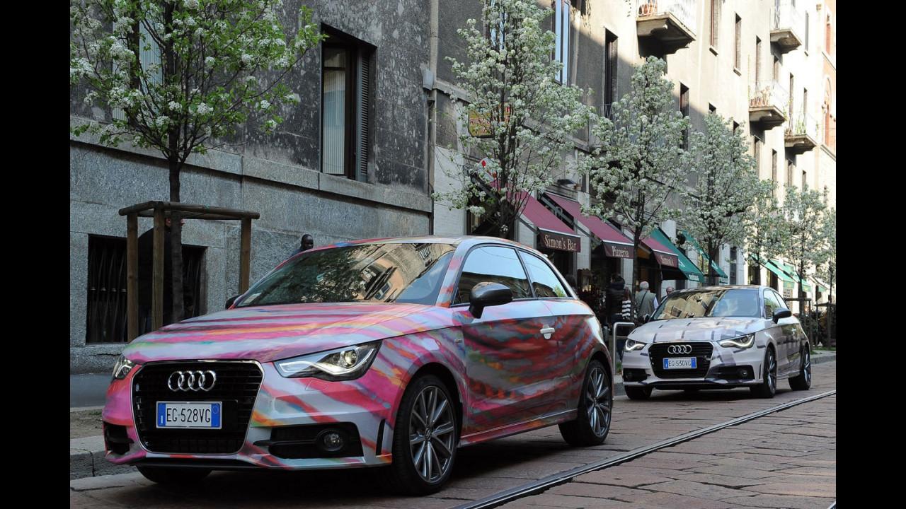 Audi A1 secondo Francesco Roggero