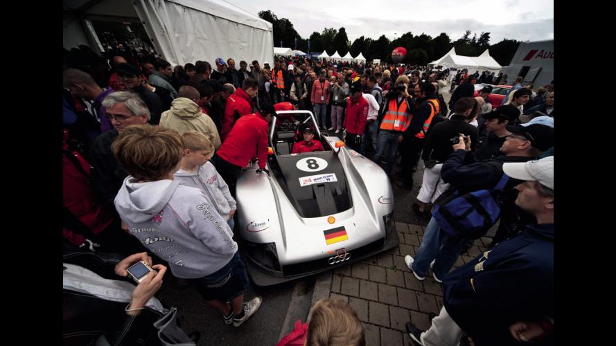 Audi Tradition: a Ingolstadt sfila la storia dei 4 anelli
