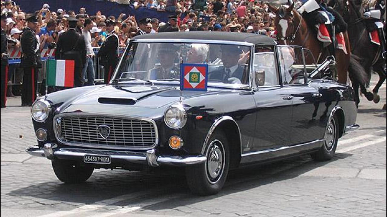 [Copertina] - Lancia Flaminia 335, l'auto del Presidente