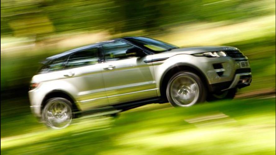 Range Rover Evoque: primo compleanno con 80.000 candeline