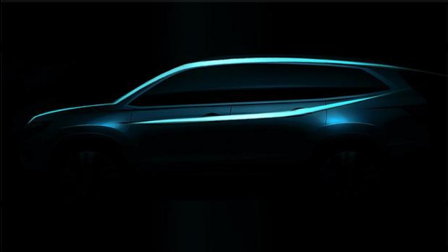 Honda Pilot, primo teaser della terza generazione