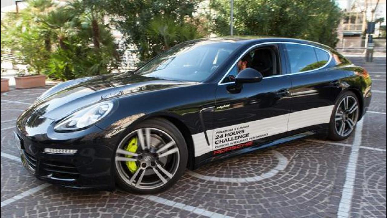 [Copertina] - Porsche Panamera S E-Hybrid, 24 ore a bassi consumi