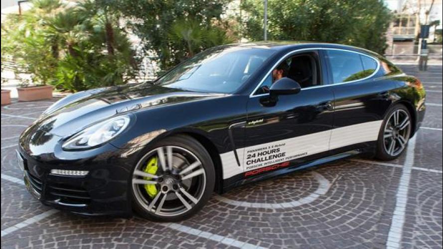 Porsche Panamera S E-Hybrid, 24 ore a bassi consumi