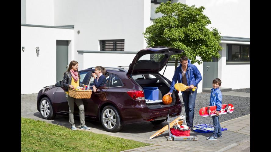 Chevrolet Cruze Station Wagon, familiare per famiglie