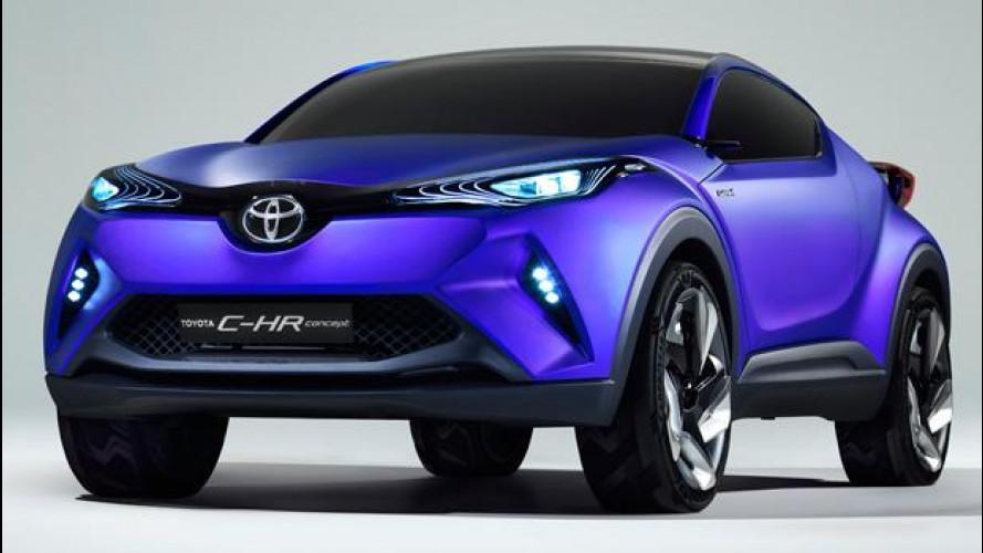 Toyota C-HR concept, ispirato ad un diamante